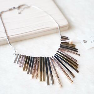 & Other Stories Multi Color Striking Necklace